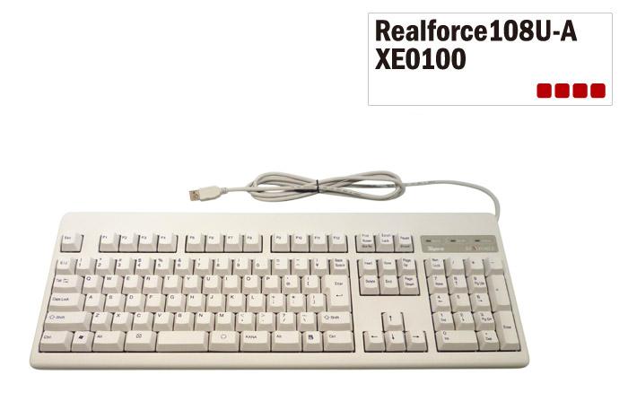 東プレ 送料無料 即納です!Realforce108U-A アーキサイトオリジナル 日本語108配列 白モデル フルキーボード 昇華印刷 変荷重 DIP付 XE0100