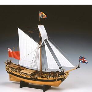 ウッディジョー木製帆船模型1 送料無料カード決済可能 送料無料カード決済可能 64チャールズヨット