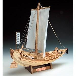 バーゲンセール 最安値挑戦 ウッディジョー木製帆船模型1 72菱垣廻船レーザーカット加工