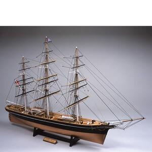 気質アップ ウッディジョー木製帆船模型1 100カティサーク レーザーカット加工 帆無し 低価格