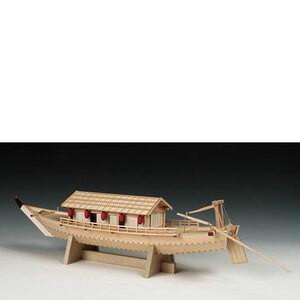 新作 ウッディジョー木製帆船模型1 24屋形船 お買い得品 初心者向け
