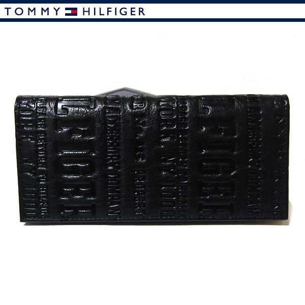 トミーヒルフィガー 財布 トミー財布 TOMMY HILFIGER 長財布 ブラック Eastborne 31TL19X018-100 0092 5645 01 【あす楽対応】