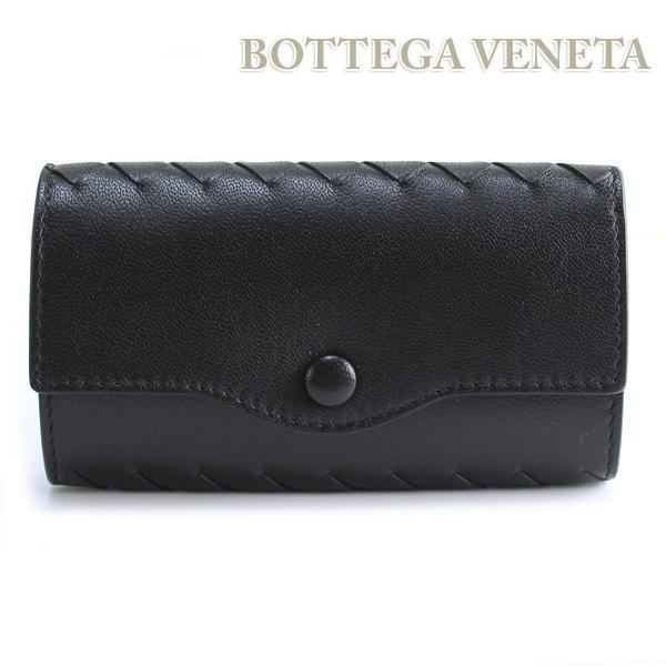 ボッテガ キーケース BOTTEGA VENETA ボッテガヴェネタ べネタ 大好評です 期間限定特価品 送料無料 1000 284137 あす楽対応 V001N ブラック 6連キーケース