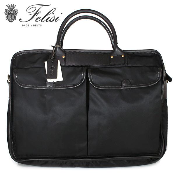 【FELISI】フェリージ ブリーフケース ビジネスバッグ メンズ 紳士用 1999-DS 0041 ブラック【あす楽対応】【送料無料】