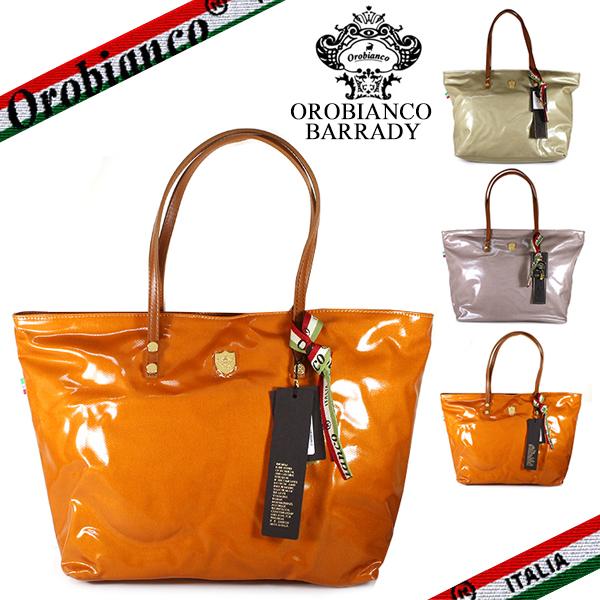 【Orobianco】オロビアンコ トートバッグ レディース BARRADY ZIP-Z3 DRILLAK バラディー コーティングナイロン 3カラー