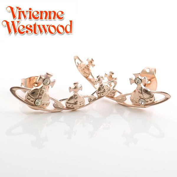 【Vivienne Westwood】ヴィヴィアンウエストウッド ピアス キャンディ イヤリング ピンクゴールド 3563【あす楽対応】【送料無料】