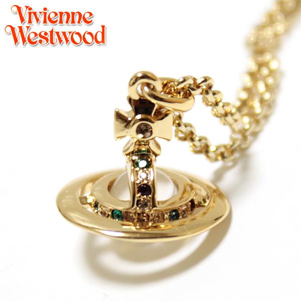 【Vivienne Westwood】ヴィヴィアン ウエストウッド ネックレス NEW PETITE ORB プチオーブ ペンダント ゴールド 1813 【あす楽対応】【送料無料】