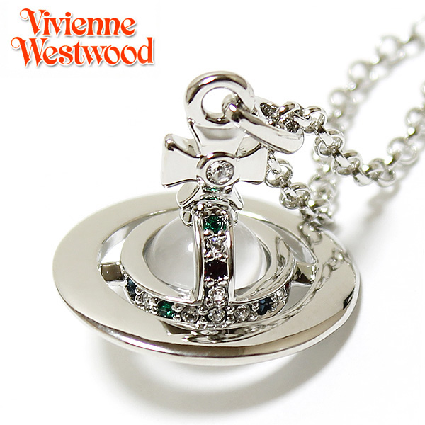 【Vivienne Westwood】ヴィヴィアン ウエストウッド ネックレス NEW TINY ORB ニュー タイニーオーブ ペンダント シルバー 1821 【あす楽対応】【送料無料】