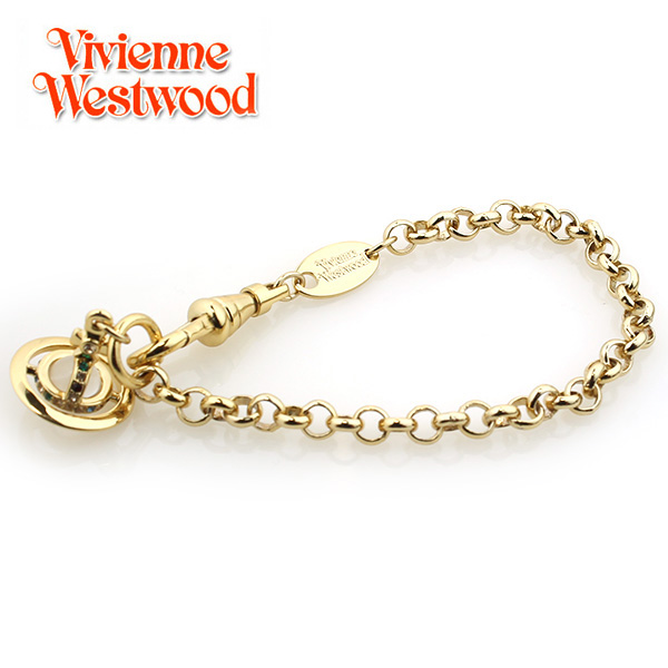 【Vivienne Westwood】ヴィヴィアンウエストウッド ブレスレット PETITE ORB プチオーブ ブレスレット ゴールド 1786【あす楽対応】【送料無料】
