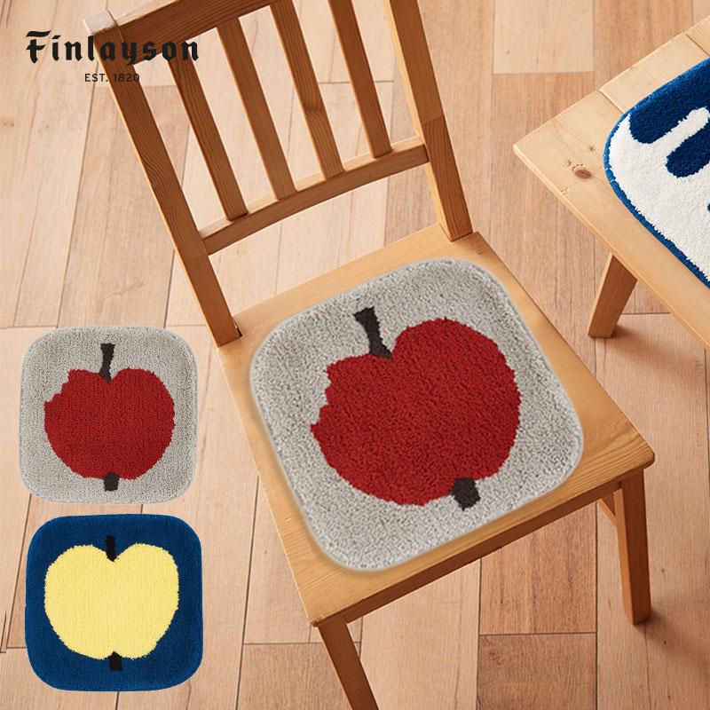 Finlayson フィンレイソン チェアパッド 全品最安値に挑戦 OMPPU 椅子 座布団 35×35 cm 椅子カバー おしゃれな北欧インテリア雑貨 プレゼント 北欧部屋 北欧テキスタイル オンップ フィンランド リンゴ モデル着用&注目アイテム