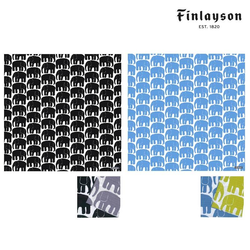 卸直営 メール便OK Finlayson フィンレイソン 風呂敷 50cm ELEFANTTI 北欧ファッション雑貨 はんかち ハンカチ おしゃれ 大判クロス 北欧雑貨 ギフト お包み コロナ 結んでエコバッグにも 期間限定特別価格 プレゼント