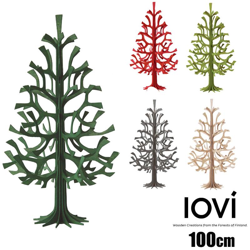 Lovi(ロヴィ) クリスマスツリー Momi-no-ki 100cm もみの木 北欧 フィンランド おしゃれな北欧プライウッド 白樺 フィンランドインテリア 置物 プレゼント ギフトに人気