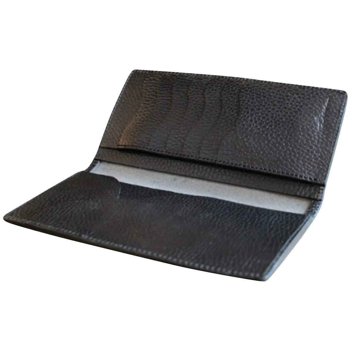 【クーポンあり】LITSTA リティスタ Bill Case Black ブラック | ビルケース 束入れ 札入れ 長財布 薄い 極薄 イタリアンレザー dollaro ドラーロ メンズ レディース 人気 おすすめ おしゃれ かわいい プレゼント 日本製