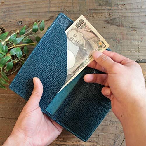 クーポンあり LITSTA リティスタ Bill Case DarkBlue ダークブルービルケース 束入れ 札入れ 長財布 薄い 極薄 イタリアンレザー dollaro ドラーロ メンズ レディース 人気 おすすめ おしゃれ かわいい プレゼント 日本製UVpSzM