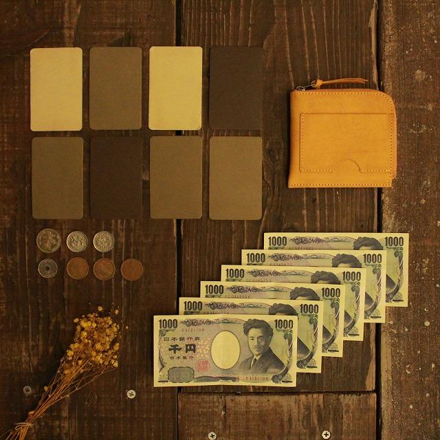 【クーポンあり】LITSTA リティスタ Compact Wallet Half コンパクトウォレット ハーフYellow | 極小財布 小さい財布 小銭入れ 束入れ 札入れ 長財布 薄い 極薄 イタリアンレザー pueblo プエブロ メンズ レディース 人気 おすすめ おしゃれ かわいい プレゼント 日本製