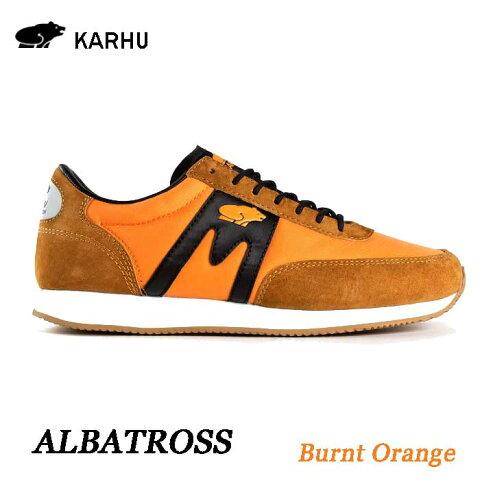 KARHU KH802500 バーントオレンジ アルバトロス カルフ Albatoross Brunt Orange レディース メンズ ユニセックス 靴 クッションシューズ スニーカー シロクマ 北欧