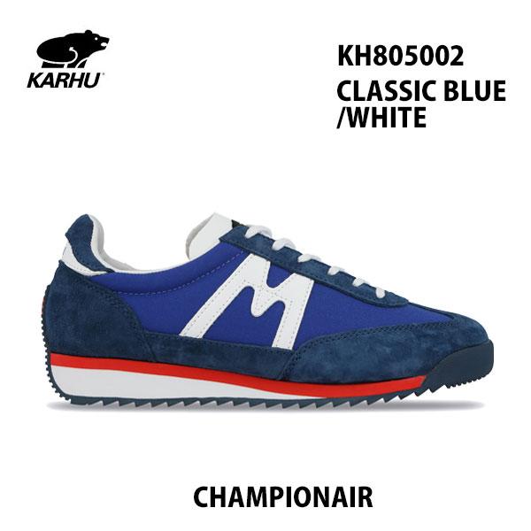 KARHU KH805002 クラシックブルー/ホワイト チャンピオンエアカルフ CHAMPIONAIR CLASSIC BLUE/WHITE レディース メンズ ユニセックス 靴 クッションシューズ スニーカー シロクマ 北欧