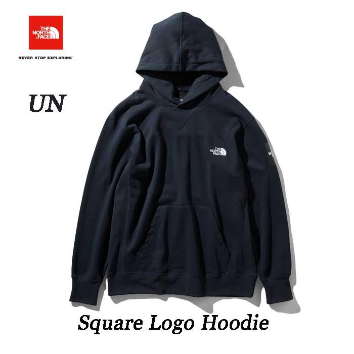 The North Face スクエアロゴフーディー(メンズ) スウェットフーディ ザ ノースフェイス Square Logo Hoodie NT11953 (UN) アーバンネイビー