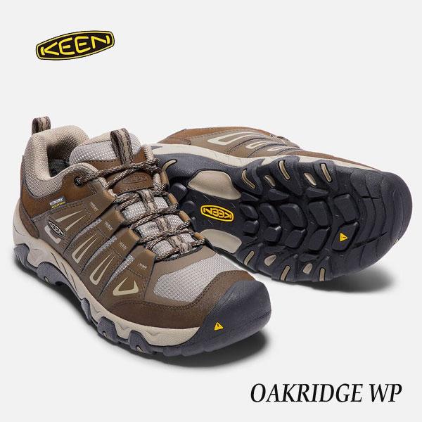 KEEN 1015311 OAKRIDGE WP あす楽対応 Cascade Brown/Brindle キーン メンズ オークリッジ 防水ハイキングシューズ