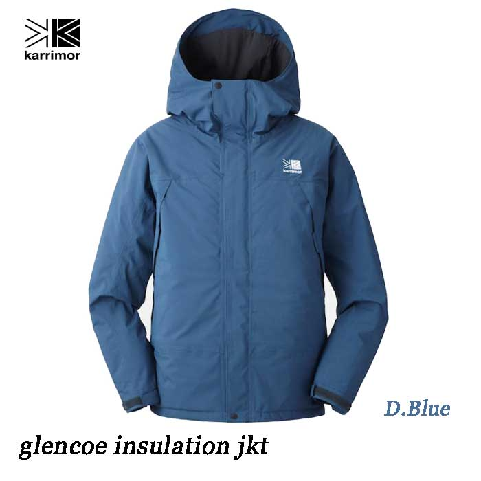 Karrimor glencoe insulation jkt D.Blue あす楽対応 カリマー グレンコー インシュレーション ジャケット(メンズ)