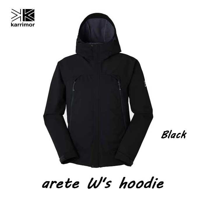 Karrimor arete W's hoodie Black カリマー アリート ウィメンズ フーディー ブラック