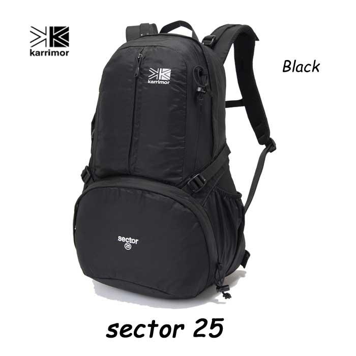 Karrimor sector 25 Black カリマー セクター25 ブラック