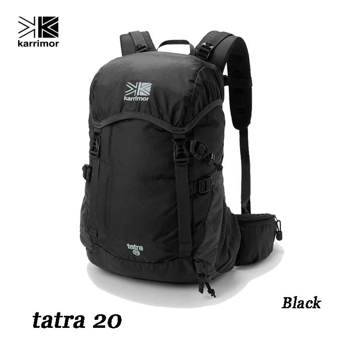 Karrimor tatra 20 Black カリマー タトラ 20 ブラック