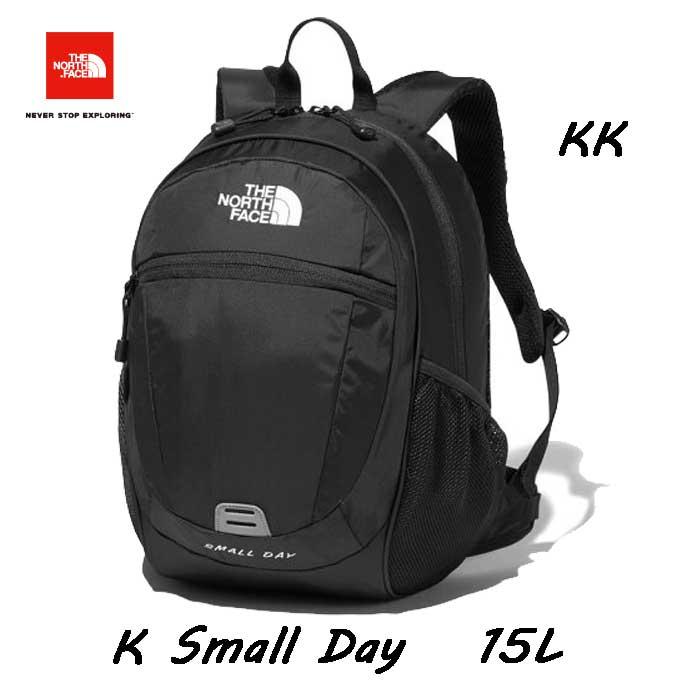 The North Face NMJ72004 (KK)ブラック K Small Day 15L  NMJ71653 の後継モデル 無償修理対象日本正規品  バックパック/リュックサック 子供用 デイパック ザ ノースフェイス キッズ スモールデイ 15L Black