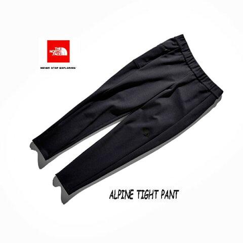 The North Face NBW81903 K Alpine Tight Pant(レディース)  ザ ノースフェイス アルパインタイトパンツ ブラック BLACK