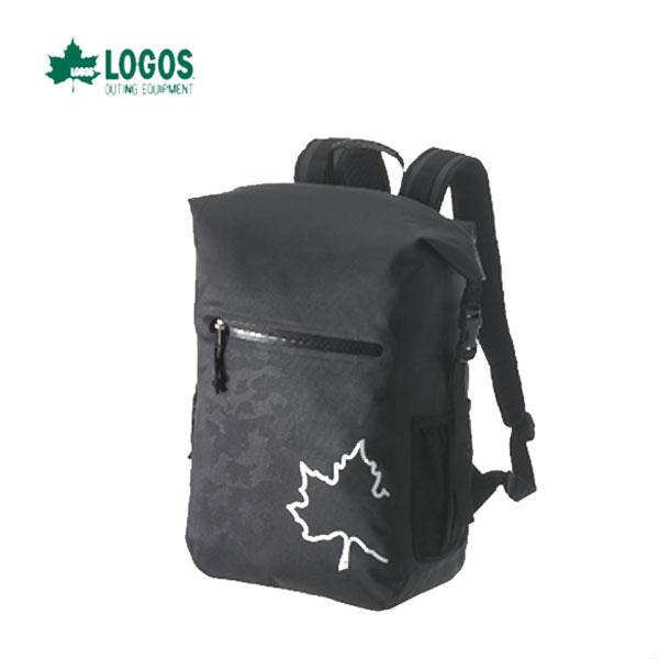 LOGOS 88200156 あす楽対応 SPLASH mobi スモールダッフルリュック25 (ブラックカモ) 水に強くて超軽量 ロゴス キャンプ フェス バーベキュー アウトドア リュック