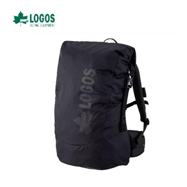 LOGOS 88250164 あす楽対応 ダッフルリュック40(ブラック) ガバッと入る大型軽量リュック ロゴス キャンプ フェス バーベキュー アウトドア リュック