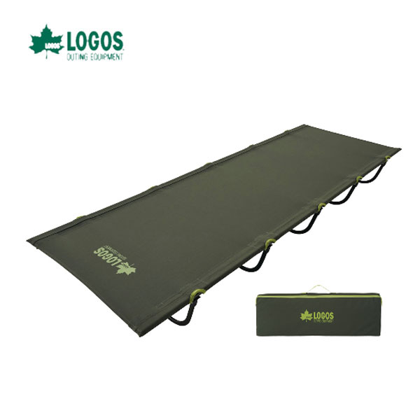 LOGOS 73173141 あす楽対応 アッセムキャンパーズベッド 力いらずで組立て簡単のコンパクトベッド ロゴス キャンプ フェス バーベキュー アウトドア ベッド