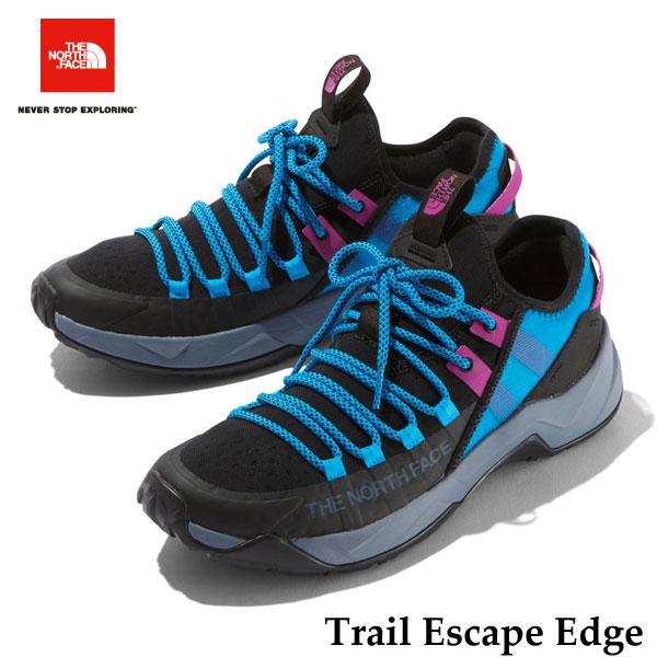 The North Face NF01980 KA Trail Escape Edge ザ ノースフェイス トレイルエスケープエッジ(メンズ) (KA)TNFブラック×アコースティックブルー TNF BLACK/ACOUSTIC BLUE