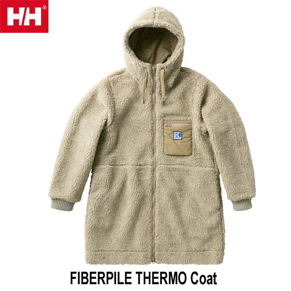 ヘリーハンセン 送料無料 Wファイバーパイル サーモ コート(レディース)  Helly Hansen FIBERPILE THERMO Coat (OM)オートミール HOW51854 OM