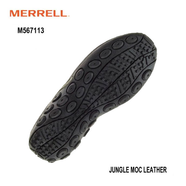 Merrell M567113 Jungle Columbia GRAVIS Moc Leather 黒