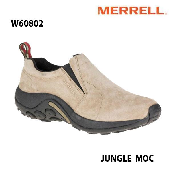 Merrell w60802 Jungle Moc Womens Taupe メレル ウィメンズ ジャングルモック トープ レディース アウトドア スニーカー 幅2E相当