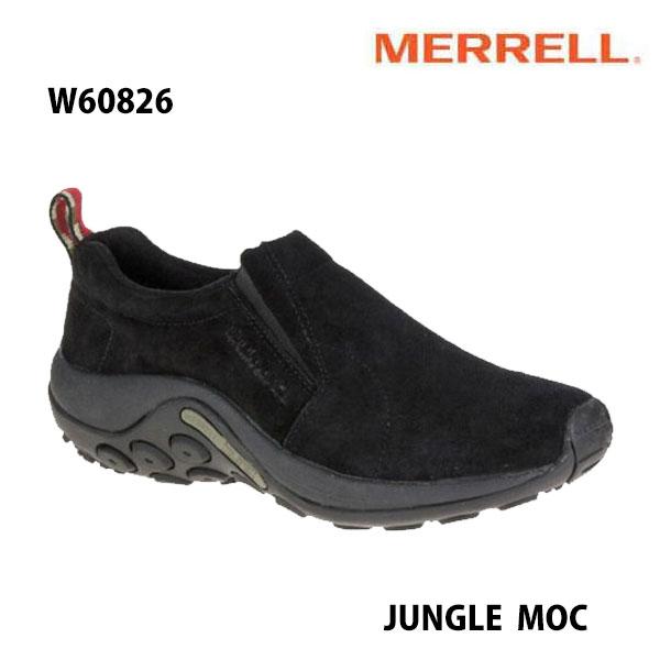 Merrell w60826 Jungle Moc Womens Midnight メレル ウィメンズ ジャングルモック ミッドナイト レディース アウトドア スニーカー 幅2E相当