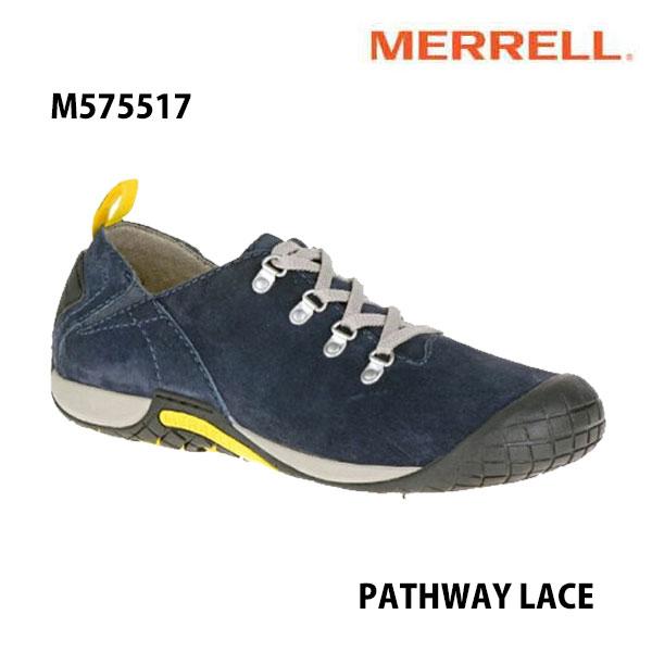 Merrell メンズ パスウェイレース M575517 NAVY  メンズシューズ メレル PATHWAY LACE Men's