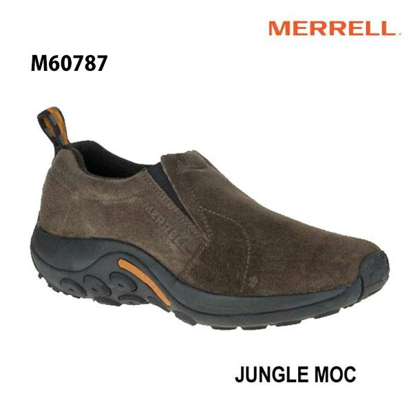 Merrell M60787 Jungle Moc Mens Gunsmoke メレル ジャングルモック ガンスモーク メンズ アウトドア スニーカー 幅2E相当