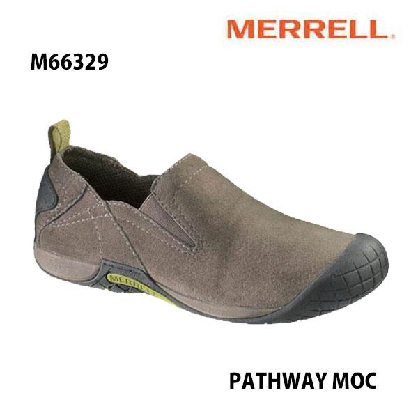 Merrell PATHWAY MOC Men's M66329 BOULDER メレル メンズ パスウェイモック メンズ アウトドア シューズ 幅2E相当