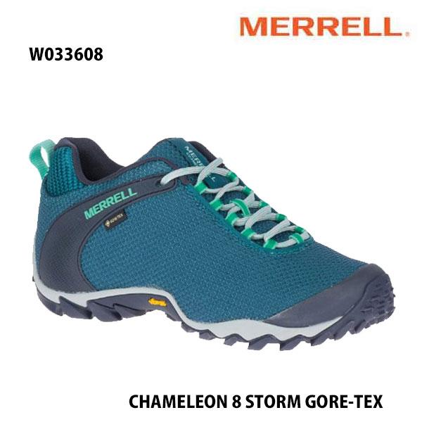 Merrell W033608 CHAMELEON 8 STORM GORE-TEX DRAGONFLY メレル ウィメンズ カメレオン 8 ストーム ゴアテックス レディース アウトドア ゴアテックス スニーカー 幅2E相当