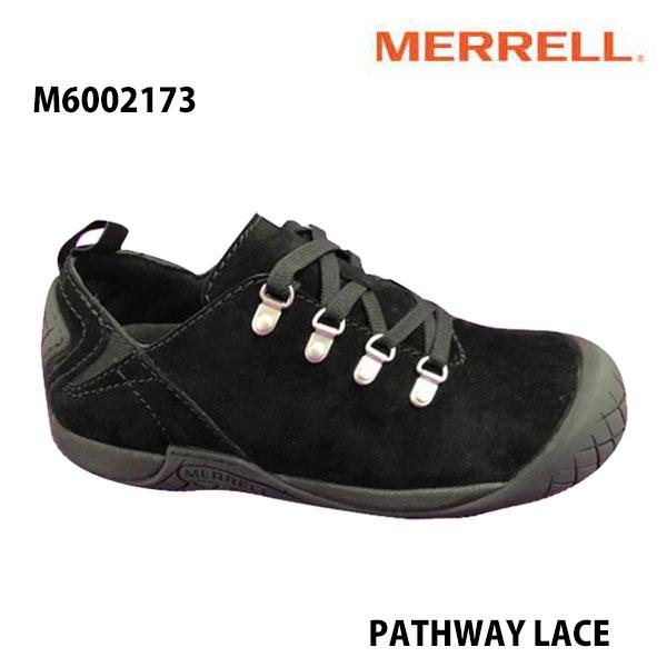 Merrell M6002173 PATHWAY LACE Men's BLACK メレル メンズ パスウェイレース ブラック メンズ アウトドア シューズ 幅2E相当 新色