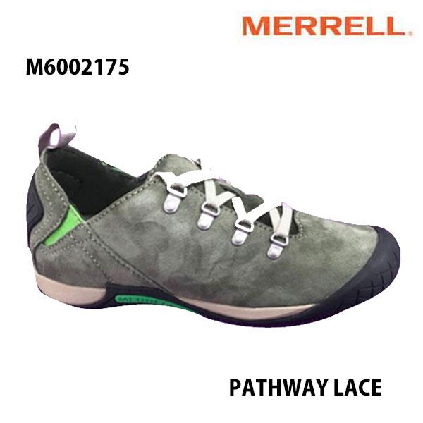Merrell M6002175 PATHWAY LACE Men's OLIVE メレル メンズ パスウェイレース オリーブ メンズ アウトドア シューズ 幅2E相当 新色