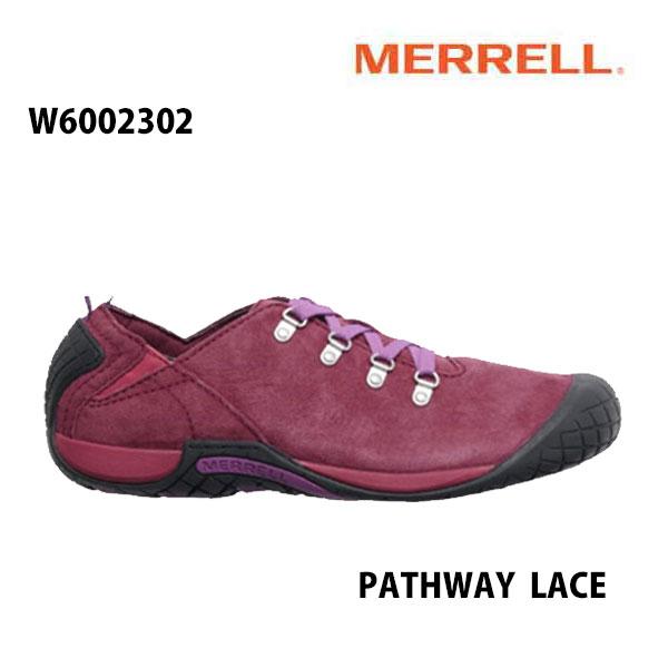 Merrell W6002302 PATHWAY LACE Women's SYRAH メレル ウィメンズ パスウェイレース シラー レディース アウトドア シューズ 幅2E相当 新色