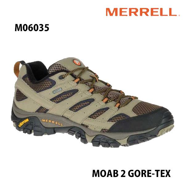 安心の丸紅フットウェア正規販売店 Merrell M06035 MOAB 情熱セール 2 GORE-TEX Walnut メレル モアブ 2 防水 ゴアテックス 幅2E相当 メンズ アウトドア スニーカー 格安 価格でご提供いたします ウォルナット