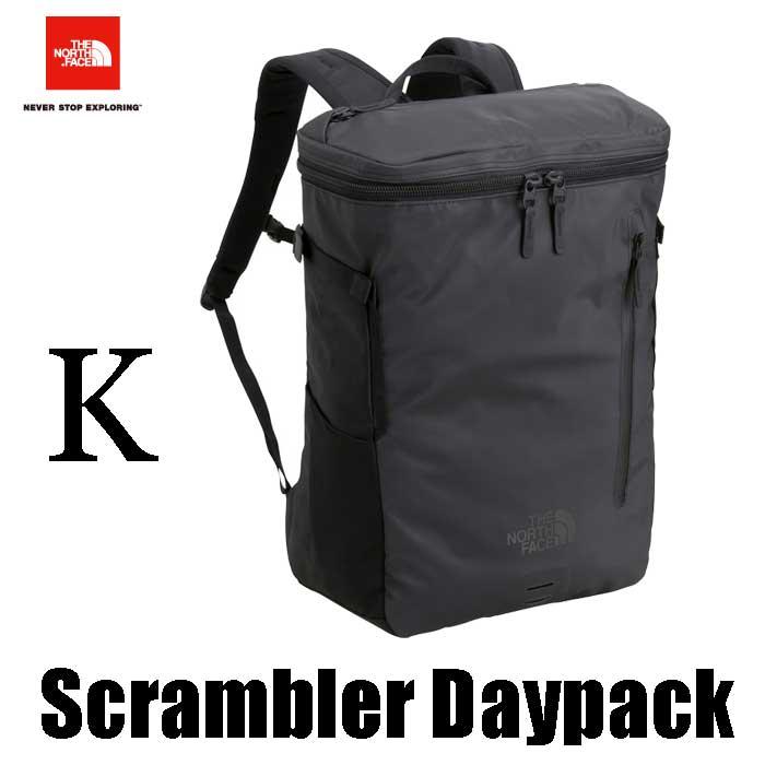 ザ ノースフェイス スクランブラーデイパック The North Face Scrambler Daypack NM818100 (K)ブラック