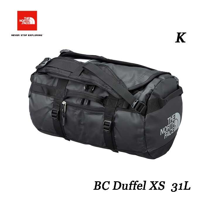 ザ ノースフェイス BCダッフル XS 31L The North Face BC Duffel XS NM81816 (K)ブラック
