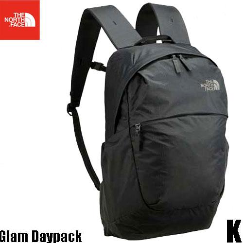 ザ ノースフェイス グラム デイパック 20L 軽量デイパック The North Face Glam Daypack NM81751 (K)ブラック
