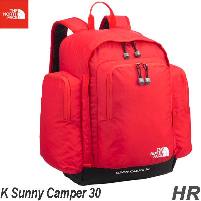 ザ ノースフェイス 送料無料  サニーキャンパー30(キッズ) バックパック/リュックサック 子供用 デイパック The North Face K Sunny Camper 30 NMJ71800 (HR)ハイリスクレッド