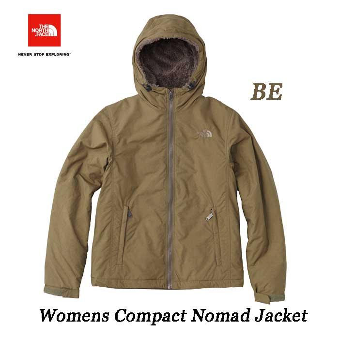 ザ ノースフェイス 2018-19年最新 コンパクトノマドジャケット(レディース) 防風性、撥水性に優れた軽量ジャケット The North Face Womens Compact Nomad Jacket NPW71633 (BE)ビーチグリーン